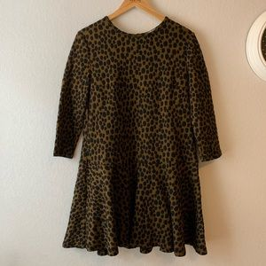 NWT Loft | Cheetah Print Dress